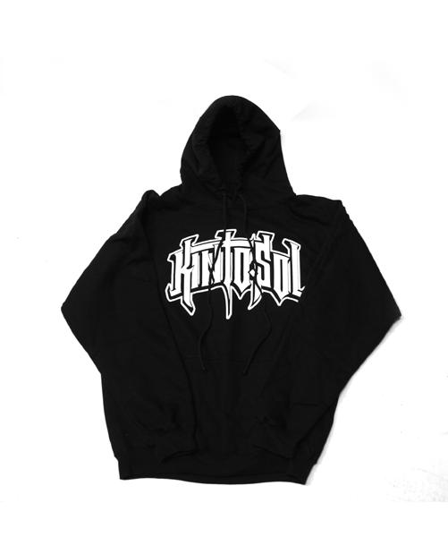 BIG Kinto Sol Straight Logo Black Hoodie
