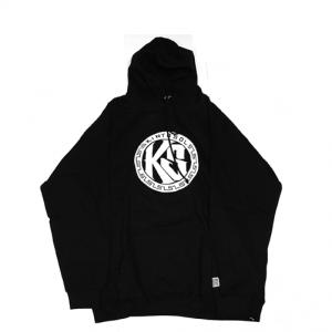 KS Round Logo Hoodie Black