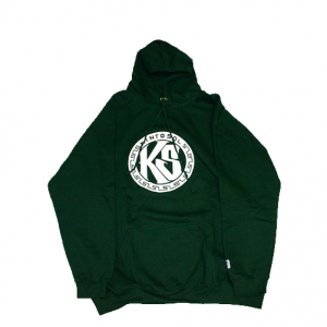 KS Round Logo Hoodie Green
