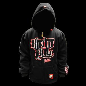 Kinto Sol Stack Logo Zipper Hoodie #4