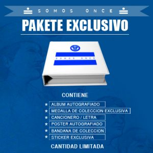 SOMOS ONCE CD Package exclusivo