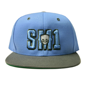 Someone SM1 Snap Baby B-Grey hat