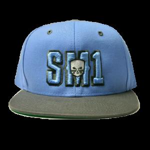 Someone SM1 Snap Baby B-Grey hat