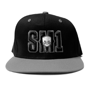 Someone SM1 Snap Black-Grey hat copy