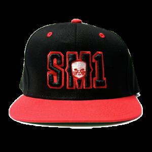 Someone SM1 Snap Black-Red hat
