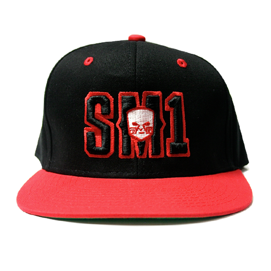 Someone SM1 Snap Black-Red hat