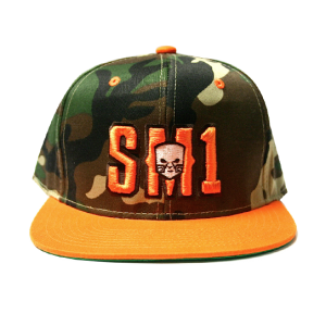 Someone SM1 Snap Camo-Orange hat