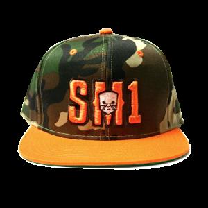 Someone SM1 Snap Camo-Orange hat
