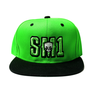 Someone SM1 Snap Green-Black hat