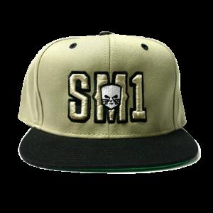 Someone SM1 Snap Kaky-Black hat