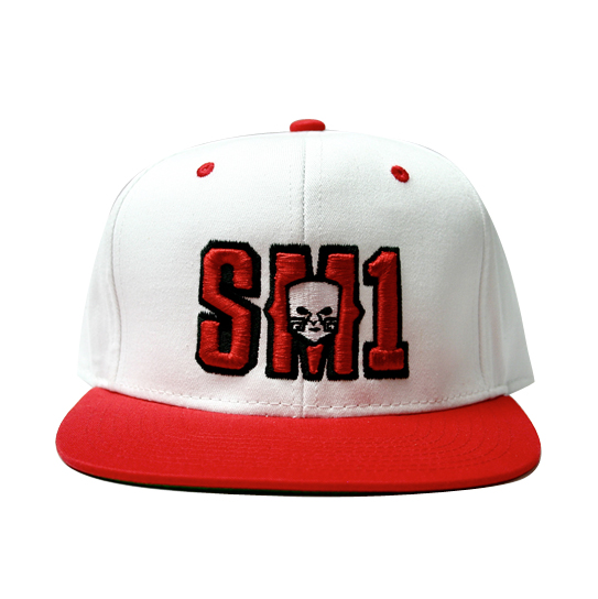 Someone SM1 Snap red:white hat