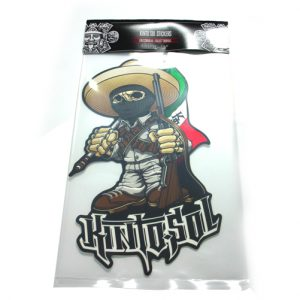 8 X 9 Sticker Charrito
