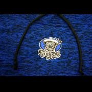 soldado hoodie embroidered hoodie blue