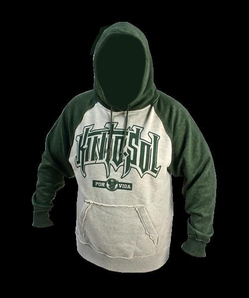 Army green hoodie