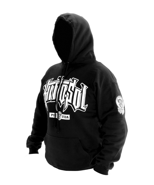 Curve Logo Kinto sol Logo Black Hoodie