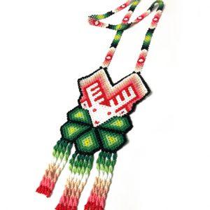 Collar Huichol #33