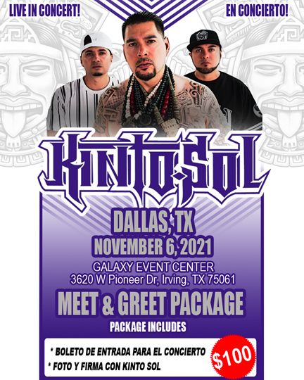 Dallas Meet & Greet ticket