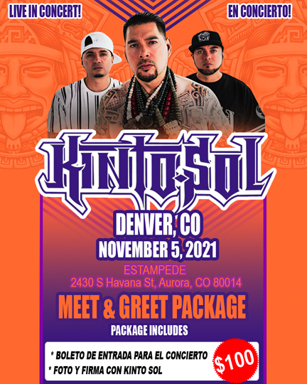 Denver Meet & Greet ticket