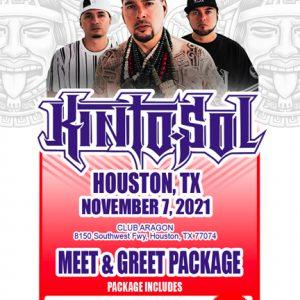 Houston Meet & Greet ticket