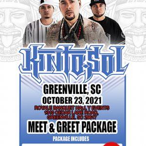 GREENSVILLE, NC Meet & Greet ticket